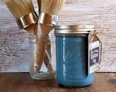 Handmade Chalk Paint, Boho Decor, Furniture Paint, Teal, Teal Home Decor, Boho Bedroom, Farmhemian Decor, Boho Living Room, Farmhemian Art