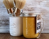Handmade Chalk Paint, Gold, Gold Home Decor, Gold Home Accents, Living Room Decor, DIY Home Decor, Accents, Bathroom Wall Art, Bedroom Decor
