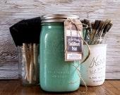 Handmade ChalkBoard Paint, Turquoise, Beach Home Decor, Wanderlust, Chalkboard Wall, Tropical Decor, Summer Adventures, Sunshine, Summer Fun