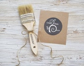 Chalk Paint Brush, Painted Furniture, Chalk Paint Brushes, Painted Dresser, DIY Kit, Chalk Painted Buffet, Bench, Wood Table, Chalk Painting