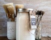 Handmade ChalkFinish Paint, White, White Kitchen, White Distressed, Hand Painted, French Nordic, White Elephant Gifts, White Christmas Decor