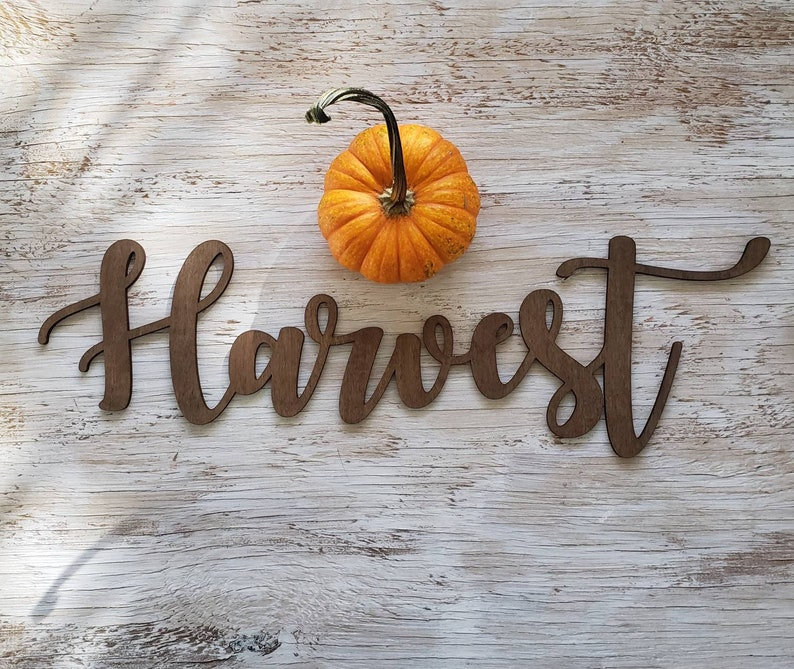 Handmade Thanksgiving Decor Fall Decor Thanksgiving Table image 0