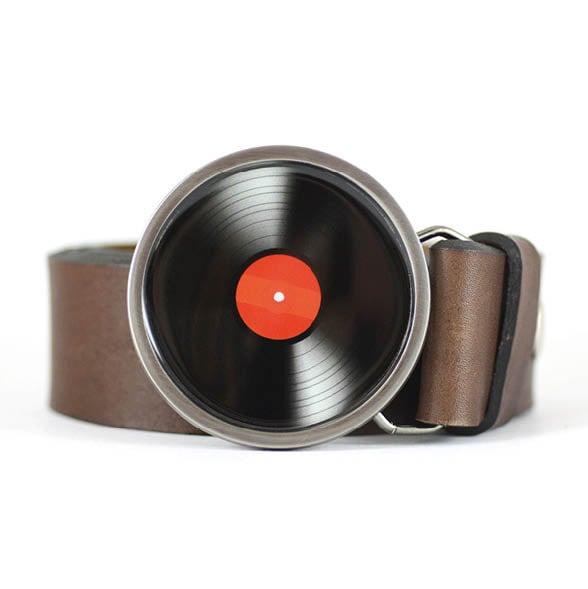 Vinyl Record Belt Buckle Lp Vinyl Belt Buckle Music Belt