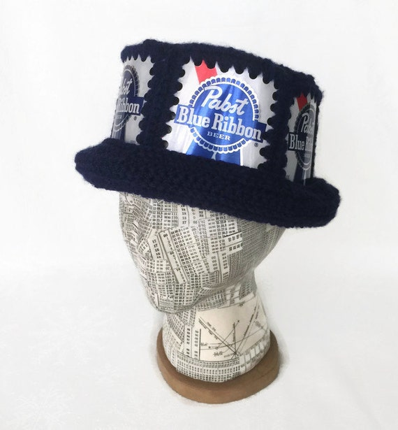 Pabst Hat   PBR Hat   Beer Can Hat   PBR Party Hat   Beer Hat  ad19386feea
