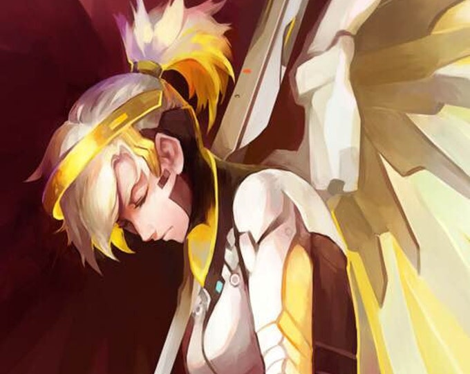 SALE Overwatch: Mercy High Quality Poster game