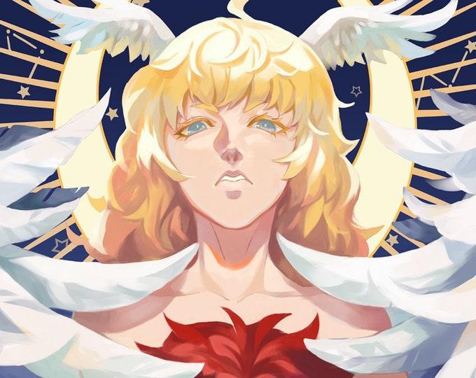 Devilman Crybaby High Quality Poster game Akira Ryo