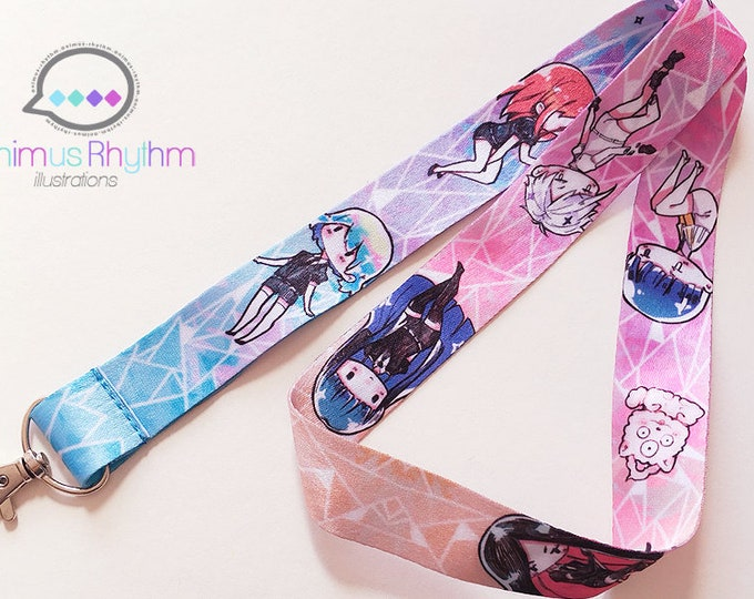 Houseki no Kuni Lanyard Diamond Phos Cinnabar Bort Antarcticite Land of the lustrous