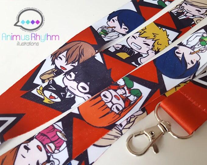Persona 5 Lanyard Joker Ann Ryuji Yusuke Akechi game