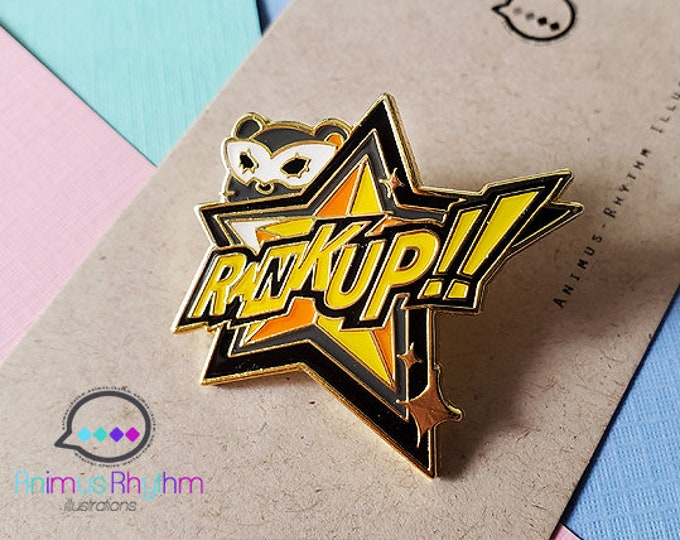 Persona 5 RankUP! Hard Enamel Pin