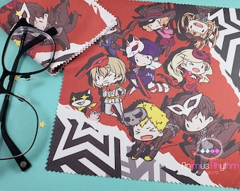 Anime Game Microfiber Cloth 7"