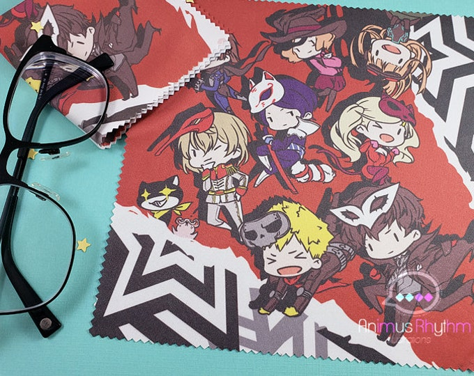 Persona 5 Joker Microfiber Cloth 7.5"