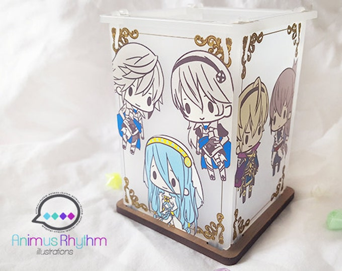 Tea Lamp: Fire Emblem Fates, Conquest and Birthright