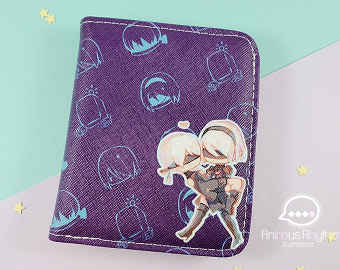Nier Automata Wallet Pouch Bill Anime Cross leatherette 2B 9S A2 YoRHa game