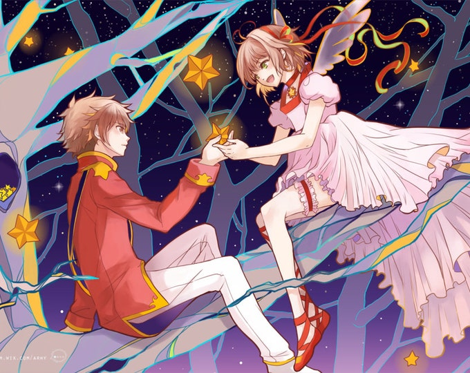 SALE Card Captor Sakura High Quality Poster anime 11x17 Print
