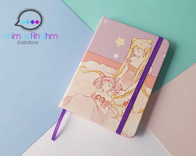 SALE Sailor Moon Travel Notebook Journal Sketchbook Usagi Chibiusa Anime