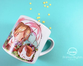 6oz Mini Ceramic Mug: Natsume Book of Friends Yuujinchou anime