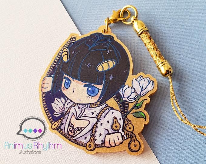 Golden Acrylic strap charm: JoJo Bruno Bucciarati Golden Wind 2in game anime