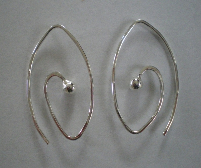 Handmade Sterling Silver Earrings image 0