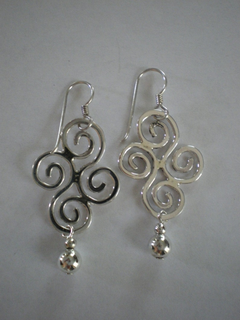 Handmade Sterling Silver Earrings image 0