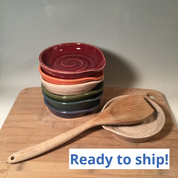 Ready to Ship Spoon Rest Be Humble