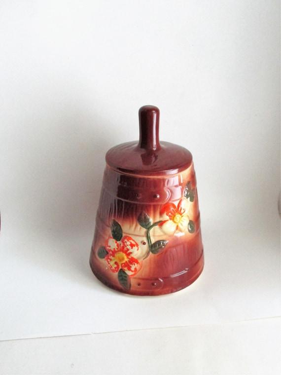 vintage butter churn cookie jar