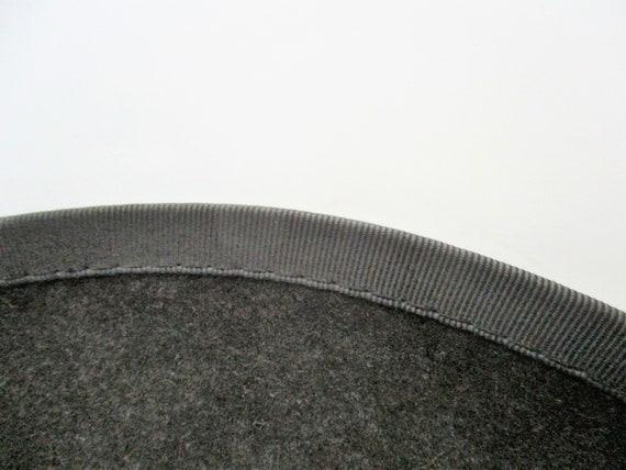Vintage Hat by Adam Men's Pork Pie Fedora Steel G… - image 10