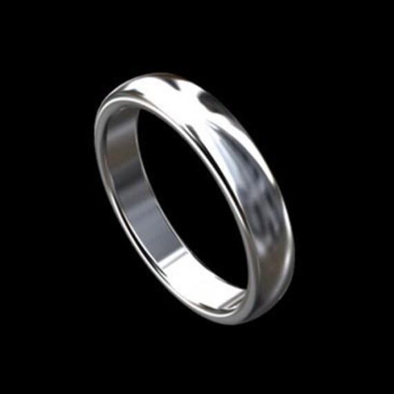 Simple Men S Ring Classic Gold Men S Wedding Ring Etsy