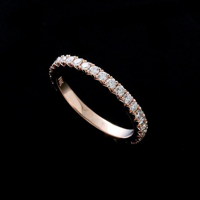 f7722b132b0 Eternity Diamond Wedding Ring Women s Wedding Band