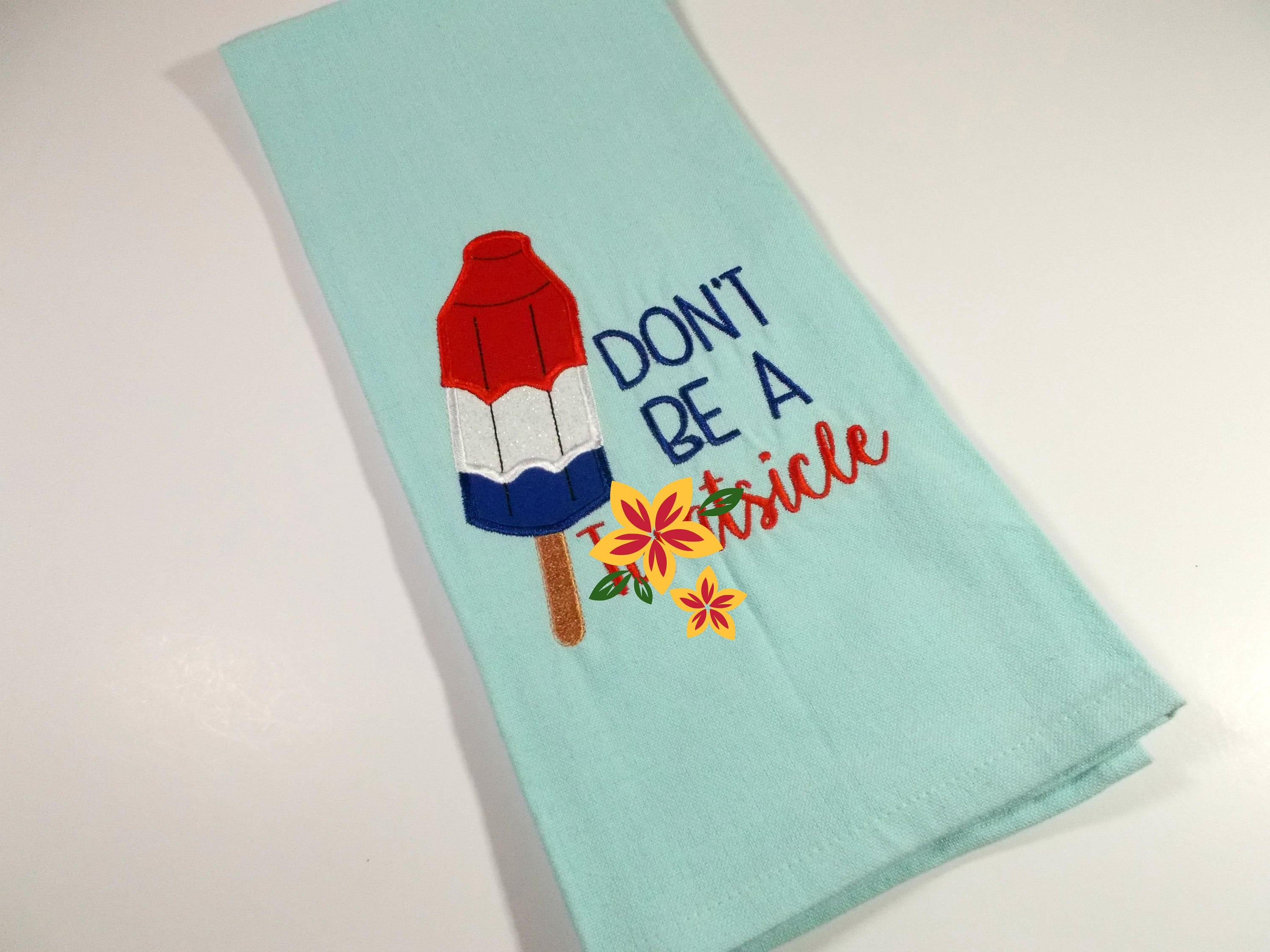 Tw@tsicle - Bomb pop- Curse word gift - Inappropriate Towel - Funny ...