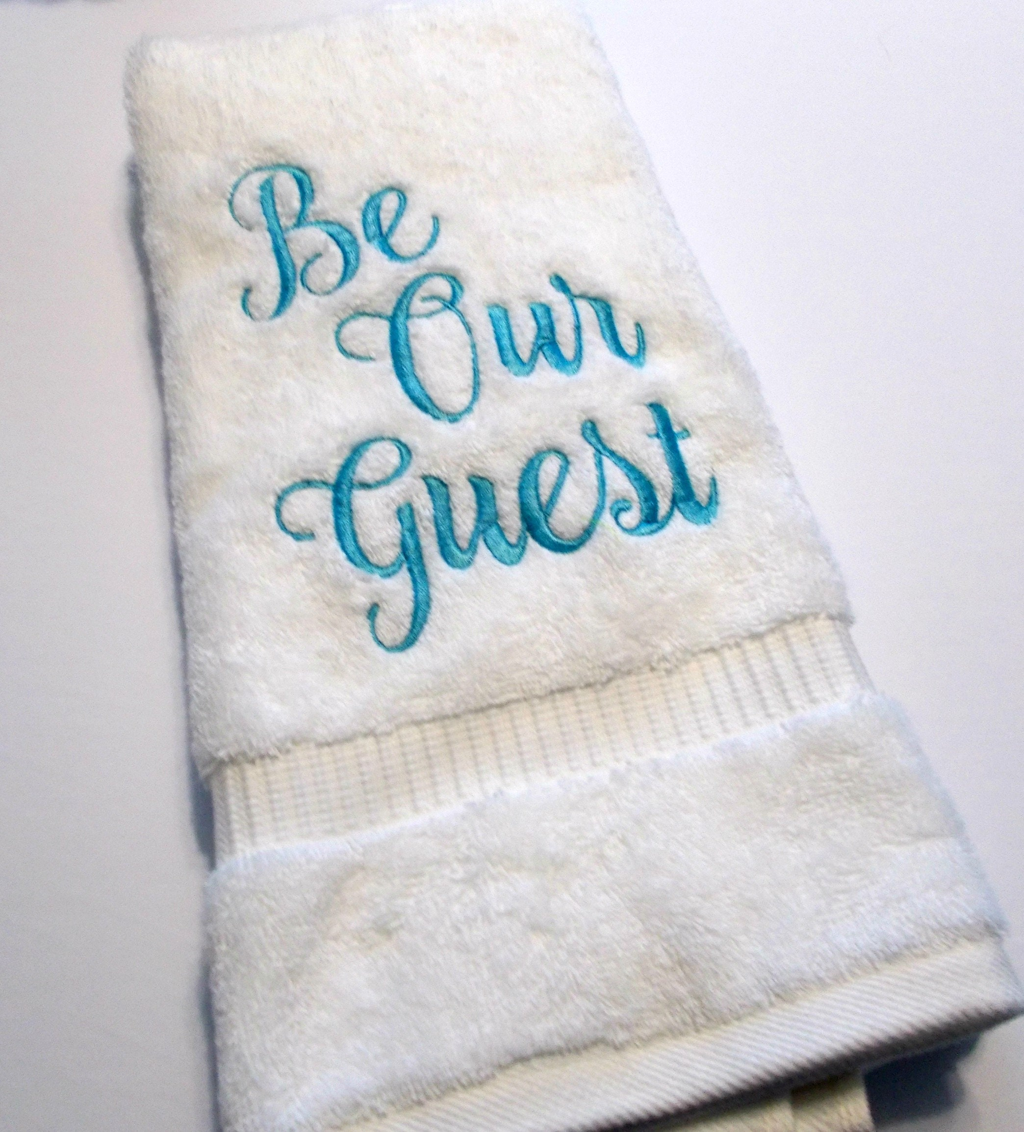 Be Our Guest Bathroom Hand Towel Hand Towel Bathroom