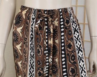 a82a2c3475 Vintage Moda International Silk Wide Leg Lounge Pants Size Medium 27-34  Waist