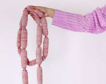 LIMITED EDITION Sausage Links - soft knitted Charcuterie meat, pretend food