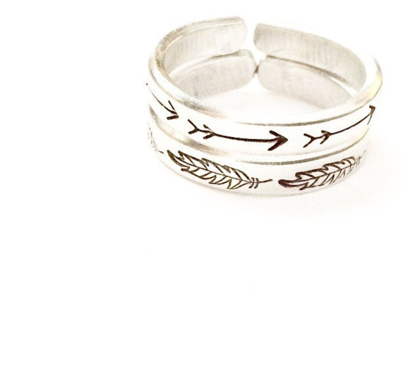Stackable Arrow Ring image 0