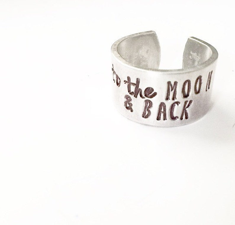 To the Moon and Back Ring image 0