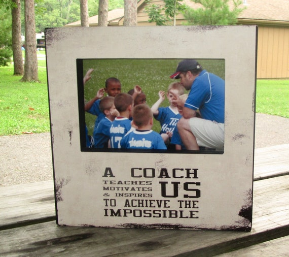 Coach Gift Coach Frame Sports Team Frame Picture Frame