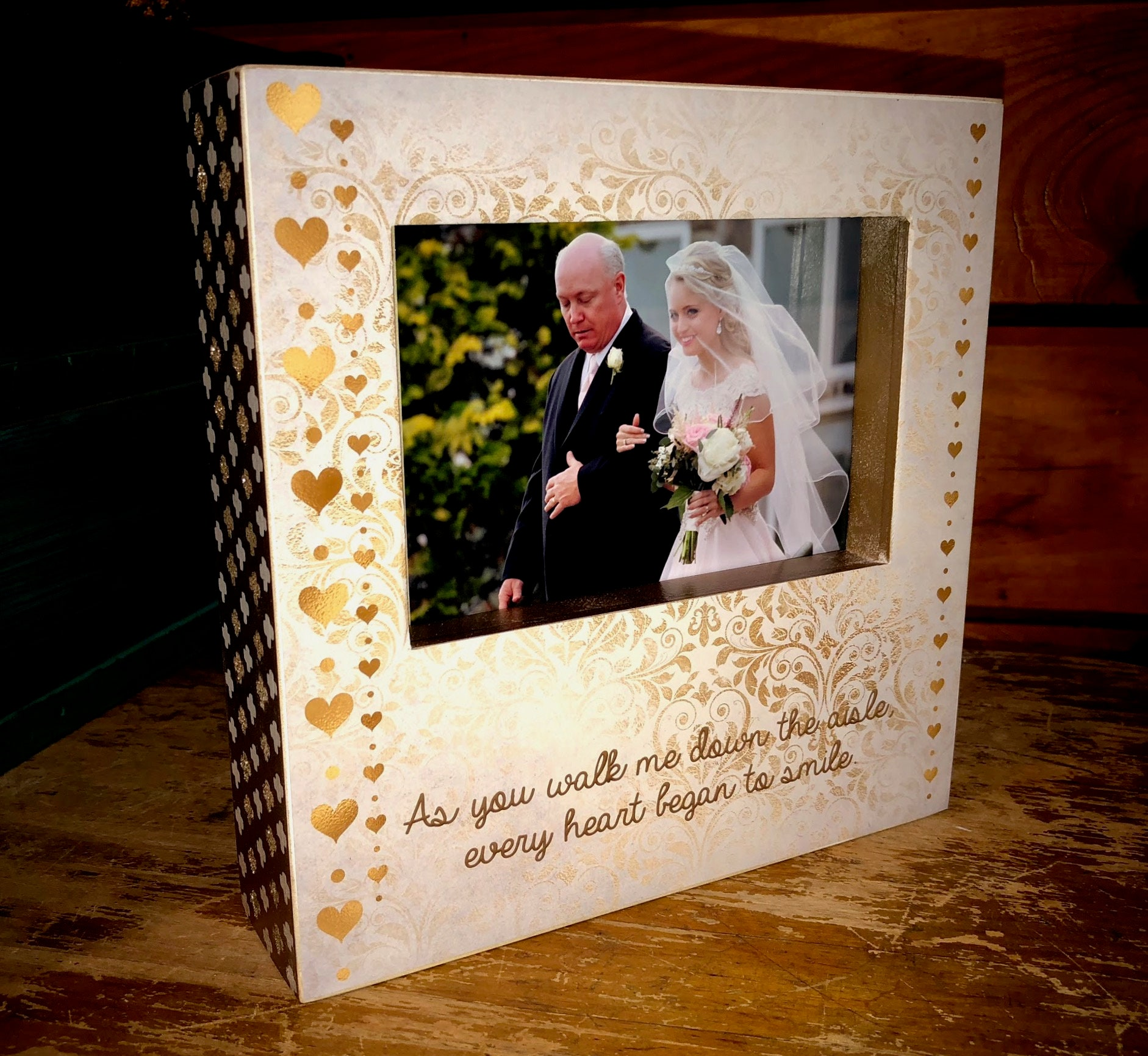 As You Walk Me Down The Aisle Wedding Party Gift Thank You