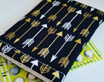 Birth Control Case Sleeve - Golden Arrows