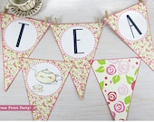Tea Party Triangle Banner...