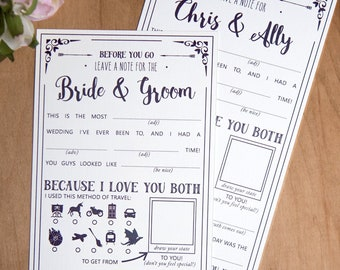 Wedding Mad Libs Printables, Star Wars Wedding, Marriage Advice Cards, Fantasy, Nerd Wedding, Dr Who, Geek, INSTANT DOWNLOAD