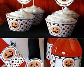 Halloween Printable Party  - DIY Party Supplies and Decorations - Complete set - INSTANT DOWNLOAD pdf