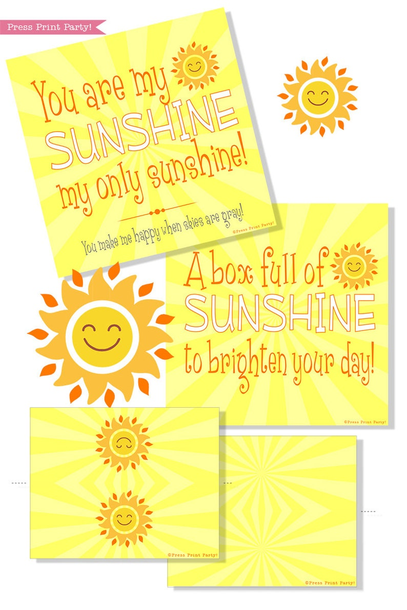 graphic regarding Basket of Sunshine Printable titled Sunlight Box Printables, Solar Reward Box, Cheer Up Treatment offer, Sympathy Reward, Lousy Working day Present, Purchase Properly Deal, Box of Sunlight, Do-it-yourself Reward
