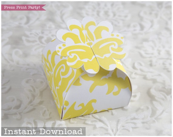 photograph about Box of Sunshine Printable titled Flower Desire Box Printable, Yellow Want Box, Flower Address