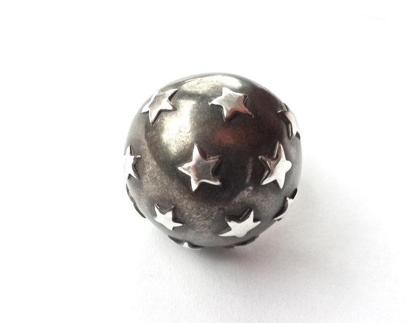 star dome ring half ball