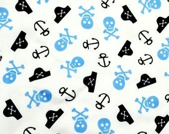 Pirate PUL fabric 16.5x36.5in polyurethane laminate cloth diaper making supplies