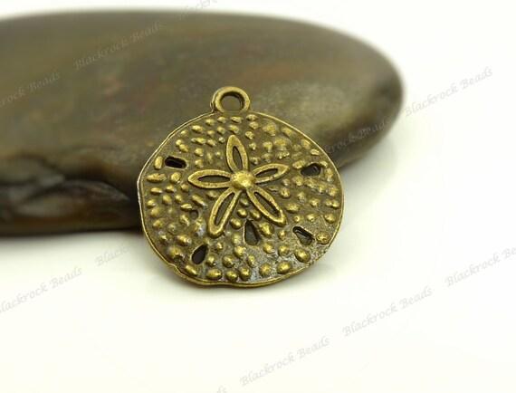 8 Mermaid charms antique bronze tone BC30