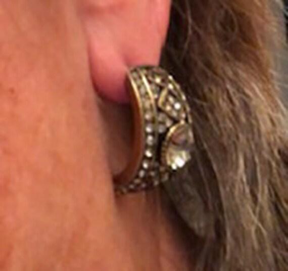 Heidi Daus Loop Earrings