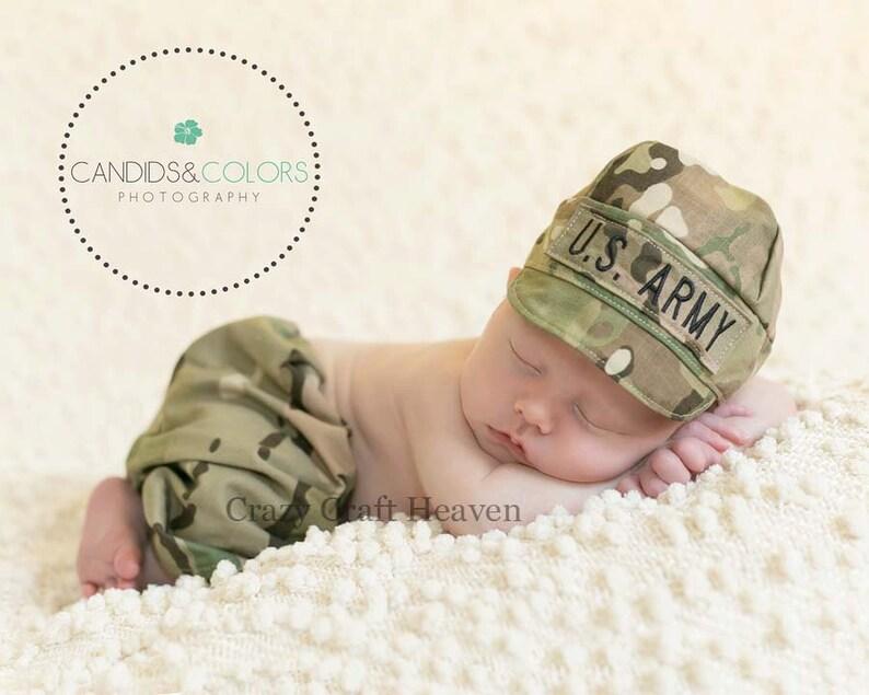 Vestito bambino Multicam esercito cappello e pantaloni set  5a0aa293b168