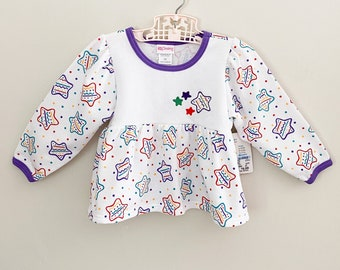 Vintage Top 80s/90s Long Sleeve Sweater Carters Size 2T