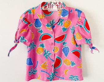 Girl's Vintage Shirt 1970s Winnie the Pooh Collection