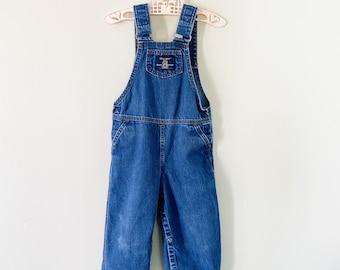 Vintage Wrangler Overalls Toddler Clothes Boys Clothing Blue Pants Vintage Denim